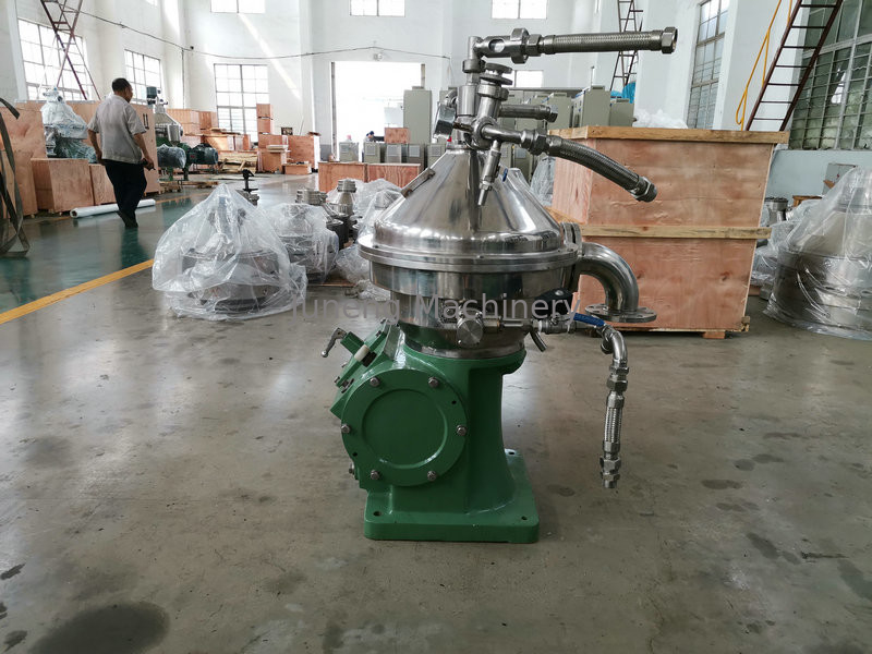 Liquid - Liquid - Solid Disc Oil Separator With High Rotating Speed